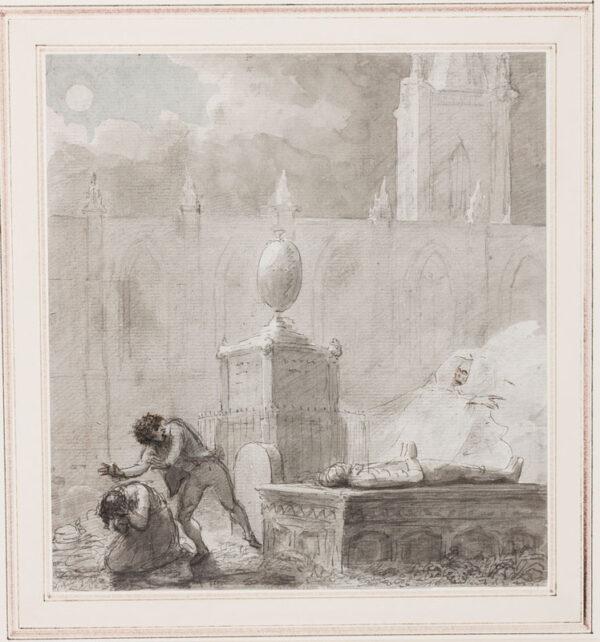 DANCE-HOLAND Sir Nathaniel (1735-1811) - A Gothick horror.