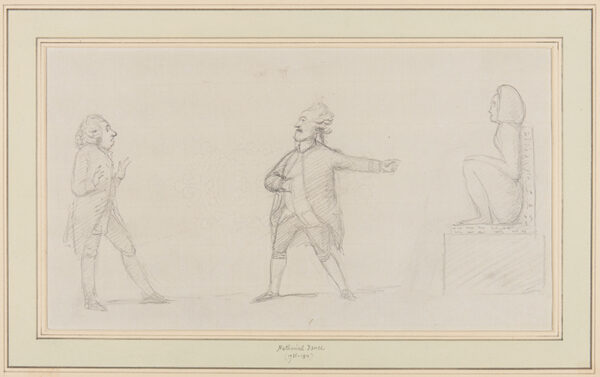 DANCE-HOLLAND Sir Nathaniel R.A. (1735-1811) - An Antiquarian.