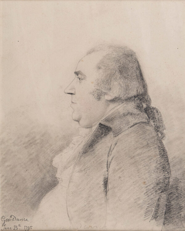 DANCE George R.A. (1740-1823) - 'Joseph Berwick'.