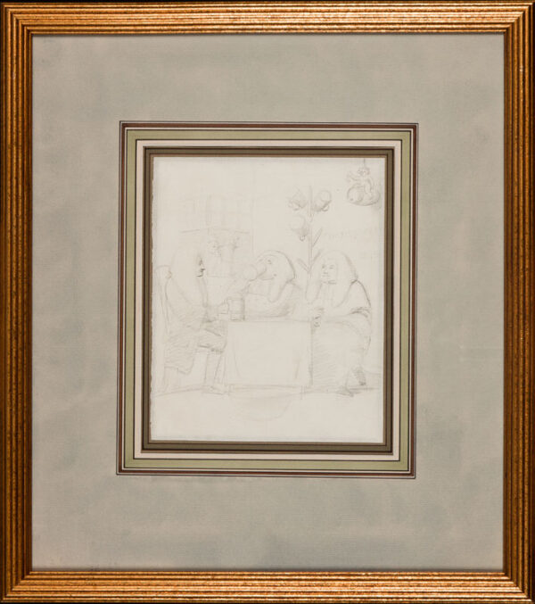 George DANCE Jnr R.A. (1741-1825) - 'Wilkes & Liberty'.