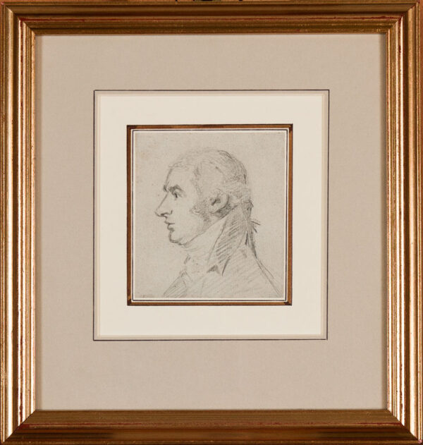 George DANCE Jnr R.A. (1741-1825) - John Bannister (1760-1836), actor and Comedian.