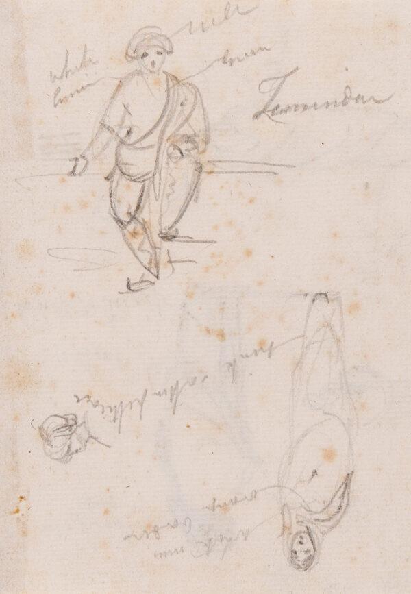 DANIELL William R.A. (1769-1837) - 'Zamindar' (Land owner).