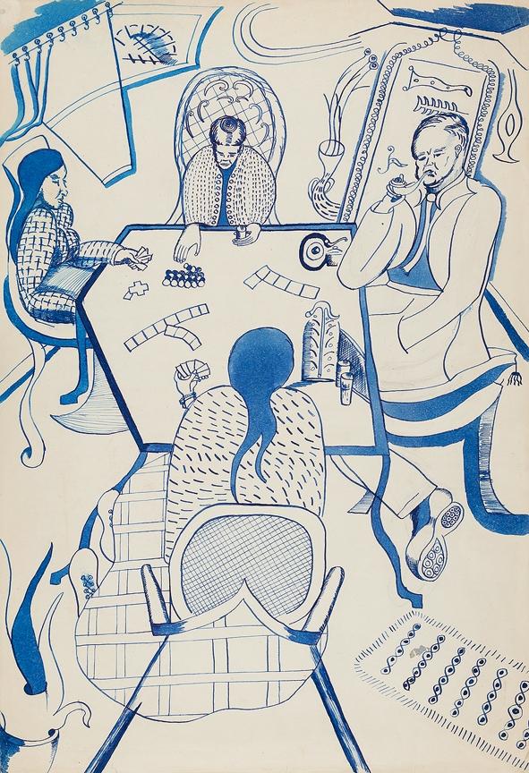 DARK Philip (1918-2008) - The Card Game.