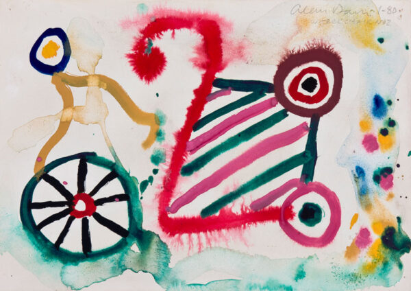 DAVIE Alan (1920-2014) - 'Wheel Chair No.
