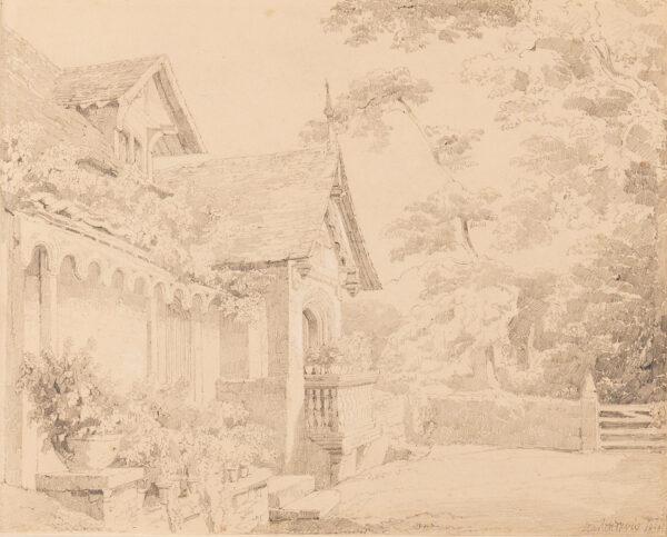 DAVIS John Scarlett (1804-1845) - South Lodge, Bromley Hill Estate.