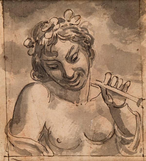 WILDE Samuel de (1751-1832) - A Bacchante.