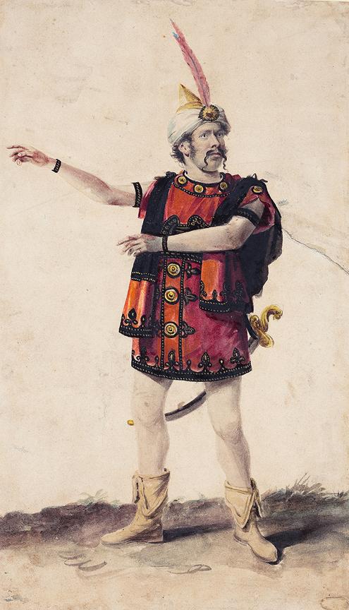 DE WILDE Samuel (1751-1832) Circle of - A Heroic Role.
