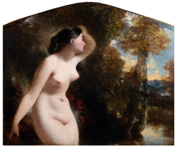 KENNEDY William Denholm (1813-1865) (Attributed to) - A water nymph.