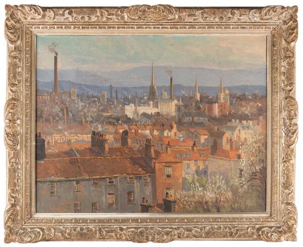 DENING Charles Frederick William (1878-1952) - 'Bristol from 24 Somerset Street, Kingsdown'.