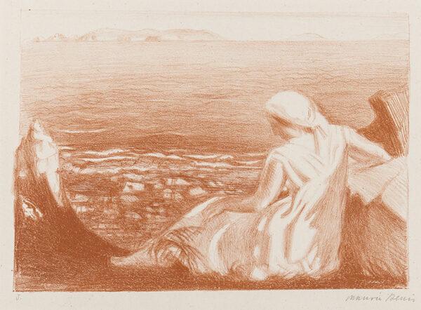DENIS Maurice (1870-1943) - 'Solitude'.