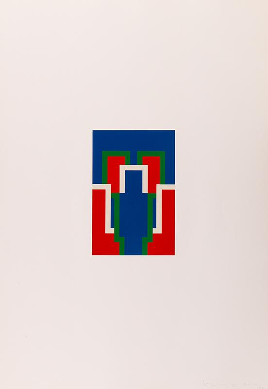 DENNY Robyn (1930-2014) - 'Thomas'; set of six screen prints.