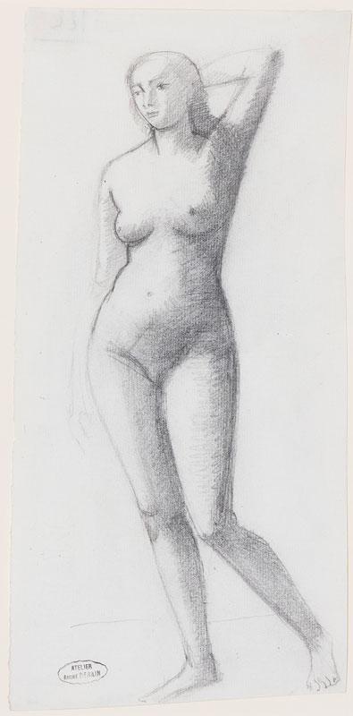 DERAIN Andre (1880 - 1954) - Life study.