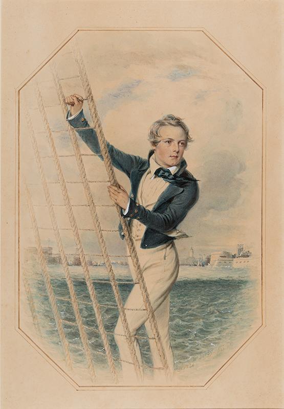 DERBY William (1786-1847) - Arthur William Acland Hood aged 16.
