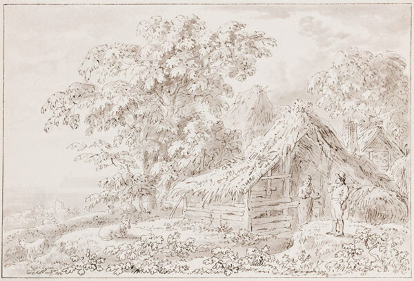 DEVIS Anthony (1729-1816) - Rustic buildings.