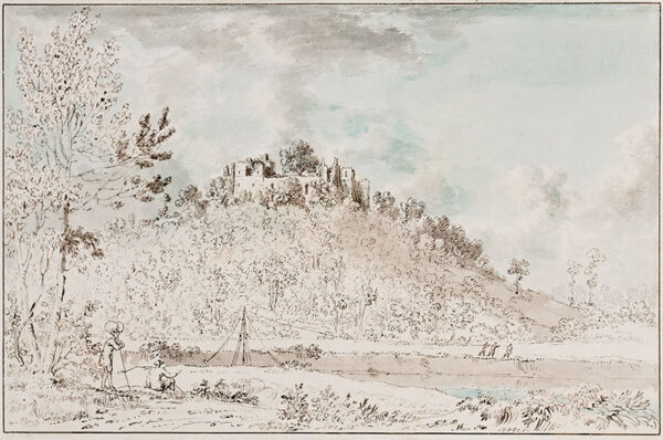 DEVIS Anthony (1729-1816) - Goodrich Castle above the Wye.