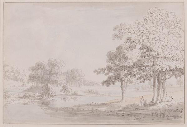 DEVIS Anthony (1729-1816) - A picturesque Park.