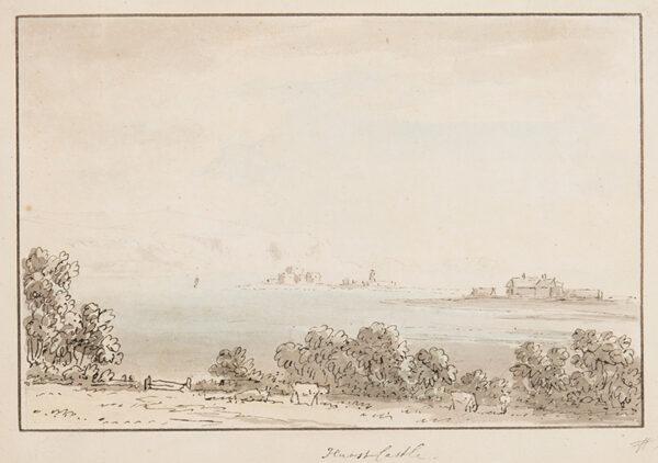 DEVIS Anthony (1729-1816) - 'Hurst Castle'.