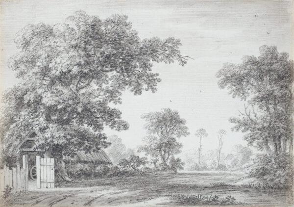 DEVIS Anthony (1727-1816) - A gentle landscape.
