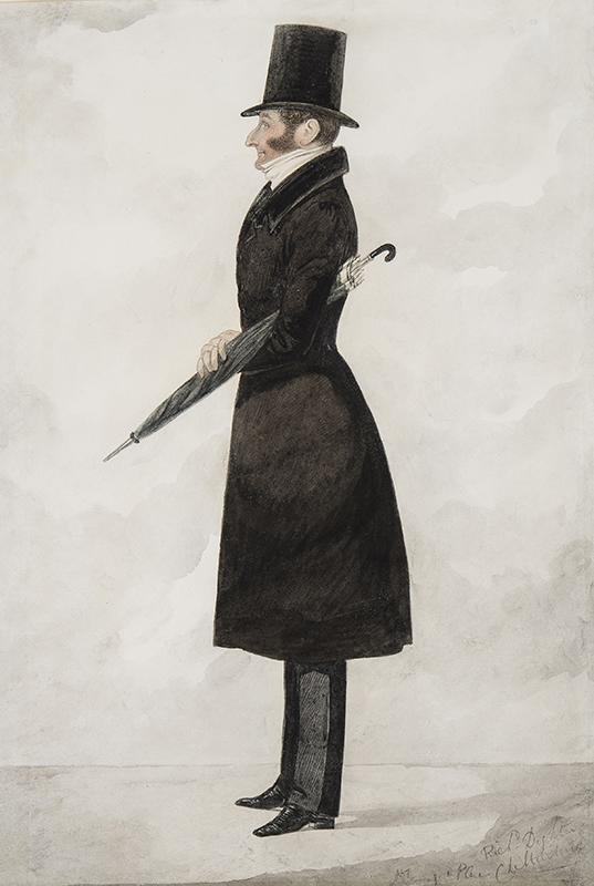 DIGHTON Richard (1795-1880) - Henry 4th Earl of Beauchamp (1784-1863) or (more likely) John 3rd Earl Beauchamp (1783-1853).