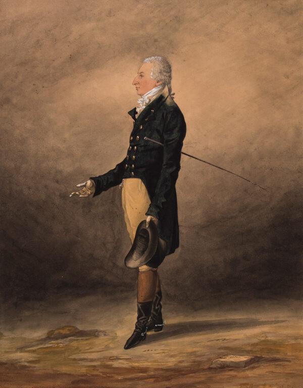 DIGHTON Robert (1752-1814) - 'Dr Barrett of Brighton'.