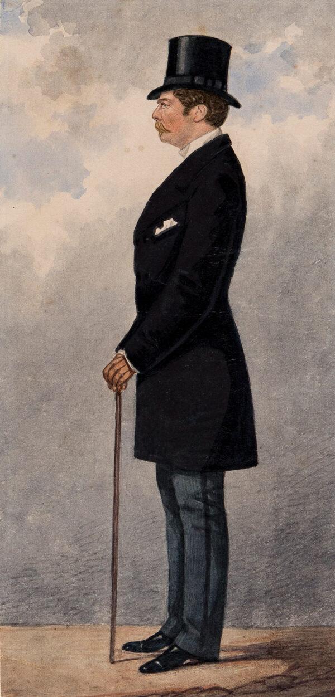 DIGHTON Richard (1795-1880) Circle of - 'Mr Percy Barker'.