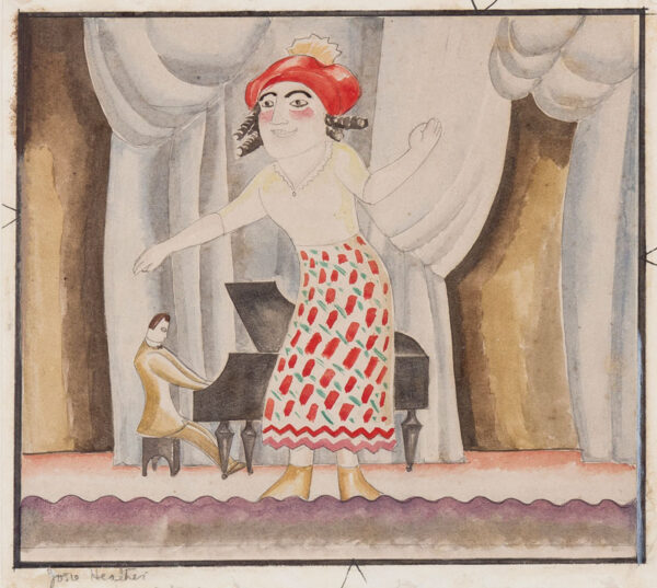 DISMORR Jessica (1885 - 1939) - 'Josie Heather sings a song'.