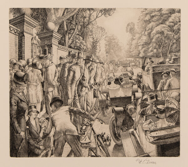 DIXON Frederick Clifford (1902-1992) - 'Putney Hill'.