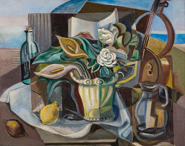 DOBREE Valentine (1894-1974) - Still-life.
