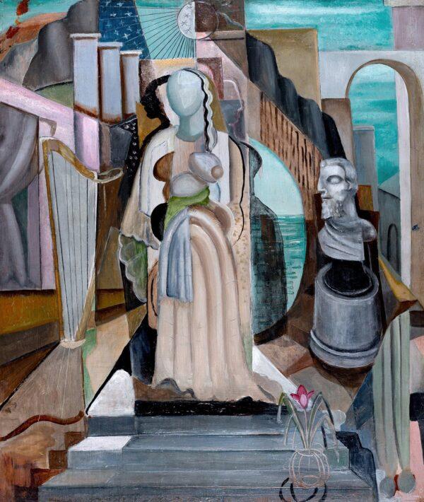 DOBREE Valentine (1894-1974) - A surreal mythology.