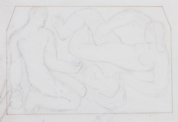 DOBSON Frank R.A. (1886-1963) - Sculpture studies.