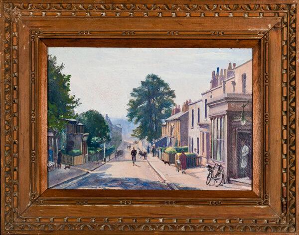 DODD Francis R.A. N.E.A.C. (1874-1949) - 'Church Street, Lee'.