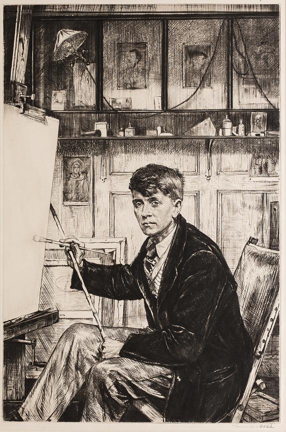 DODD Francis R.A. (1874-1949) - 'Charles Cundall R.