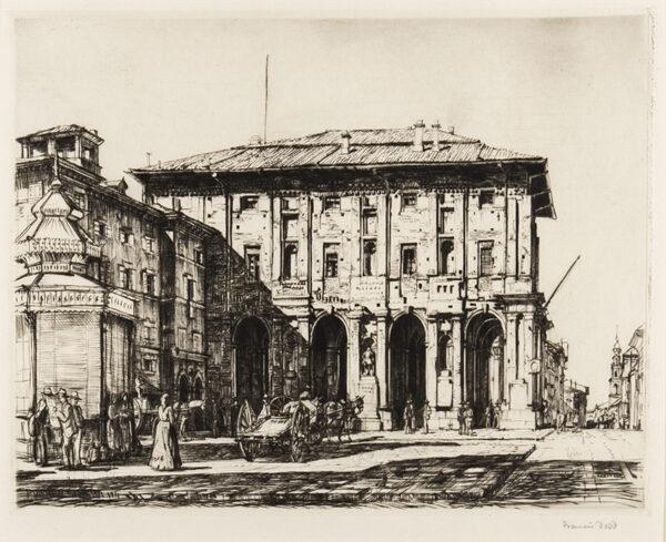DODD Francis R.A. (1874-1949) - (?)Verona.
