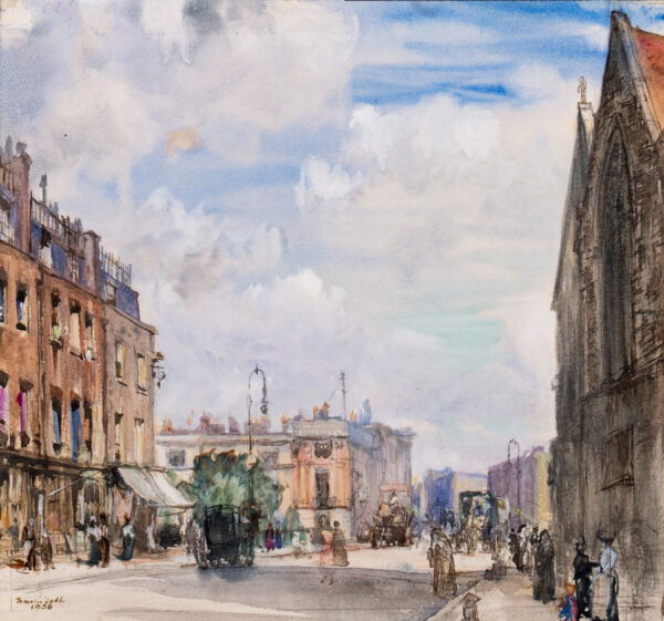 DODD Francis R.A. (1874-1949) - 'Victoria', London.