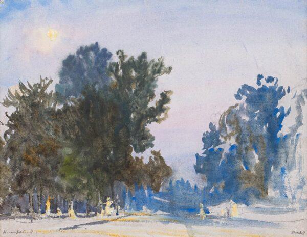DODD Francis R.A. (1874-1949) - 'Hampstead'.