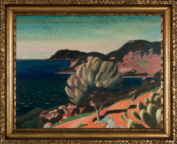 DODGSON John Arthur (1890-1969) - The Mediterranean coast: southern France.
