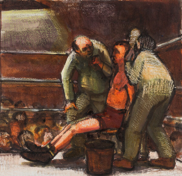 DOITCH Eric (1923-2000) - In the Boxing Ring.
