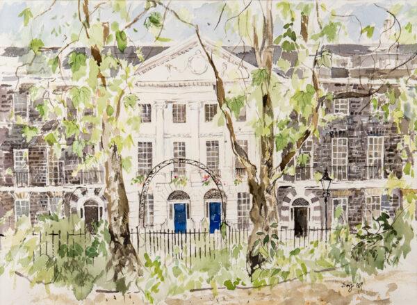 DORF Barbara (b.1933) - 'Bedford Square'.