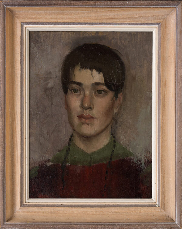 DOWLING Jane R.A. (b.1925) - Head of a Student.