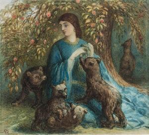 24. DOYLE Richard (1824-1883) - The Pet Bears.