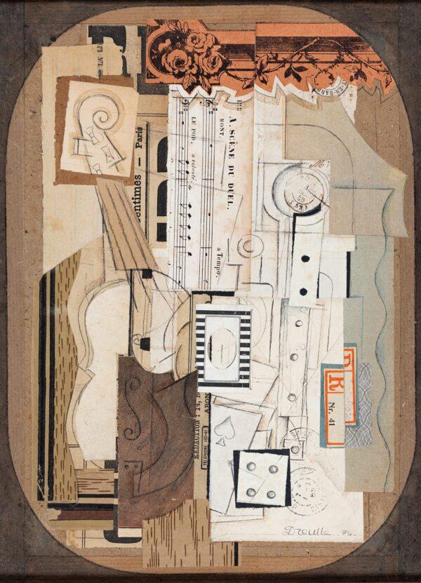 DREULLE Francois (b.1944) - Composition.