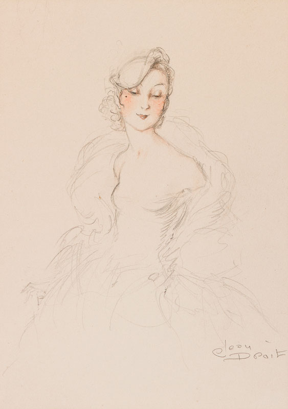 DROIT Jean (1884-1961) - Une Parisienne.