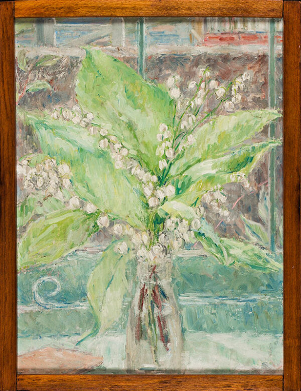 DU MAURIER Jeanne (1911-1996) - 'Lily of the valley out of our garden'.