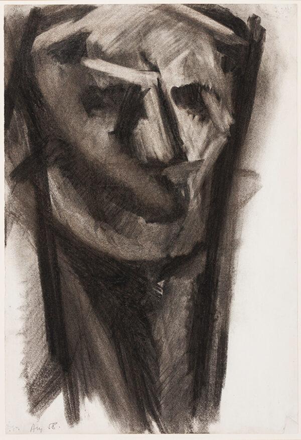 DUBSKY Mario (1939-1985) - Head.