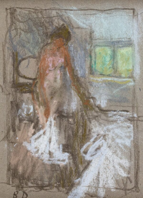 DUNSTAN Bernard R.A. N.E.A.C. (1920-2017) - Bedroom: contre-jour.