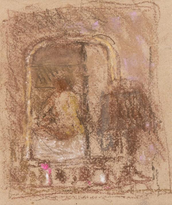 DUNSTAN Bernard R.A. (1920-2017) - Reflection in a mirror.
