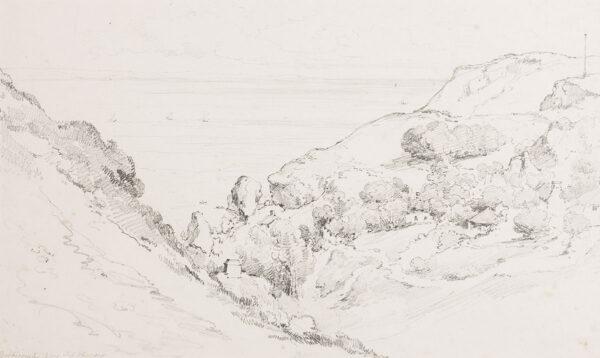 EDRIDGE Henry A.R.A. (1769-1821) - 'Babbicombe Bay', Devon.