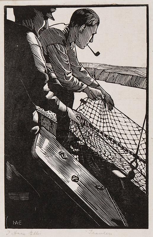 ELLIS Ivy Anne (fl.1920-1939) - 'Trawlers', Brixham.
