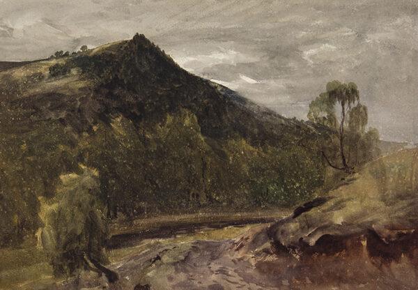 EVANS Bernard Walter R.I. (1857-1933) - Wharfedale – a sketch.