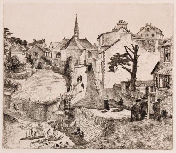 LACK Henry Martyn R.E. (1909-1979) - 'Treboul'.